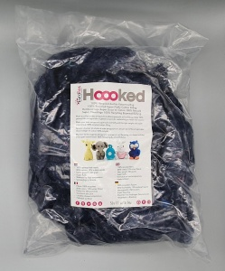 Hoooked Dark Recycled Toy Stuffing